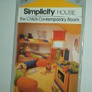 Sewing Pattern Simplicity 116 Contemporary Chld's Room How To