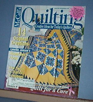 Magazine - McCall's  Quilting June 2002 14 original patterns and classic techniques