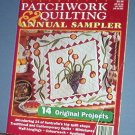 Magazine - Australian Patchwork & Quilting Annual Sampler 1995 Paterns for Quilting