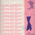 Stretch & Sew Sewing Pattern 300 T Shirt and Cardigan Bust Sizes 28 - 44
