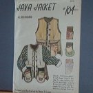 Sewing Pattern Java Jacket 104 Really Unique and Cute All Sizes by Diane Ericson