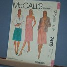 Sewing Pattern McCall's 7478 Summer Dress & Jacket Size 10