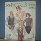 Sewing Pattern McCall's 0021 Four Vests - Size 8 - 18
