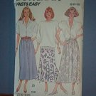 Sewing Pattern Butterick 4756 - 3 skirts - Size 8 - 12
