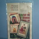 Sewing Pattern Art to Hearts 3 wall hangings, 12X11. 12X19, 9X10. Sweet