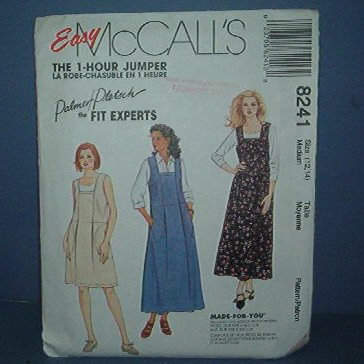 Sewing Pattern McCall's 1-House Jumper Palmer Pletsch 8241 Size 12 - 14