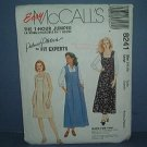 Sewing Pattern McCall's 1-House Jumper Palmer Pletsch 8241 Size 16-18