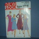 Sewing Pattern Simplicity New Look 6304 Dress, Size 10 - 22