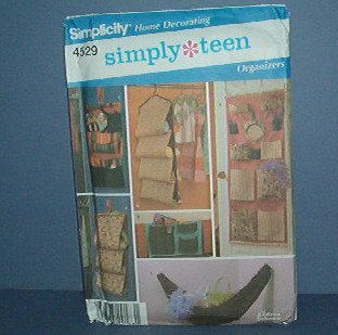Sewing Pattern Simplicity 4529 Closet Accessories, One Size