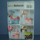 "Sewing Pattern Butterick Hats and Bags (23"") with various handles. Very Cute"