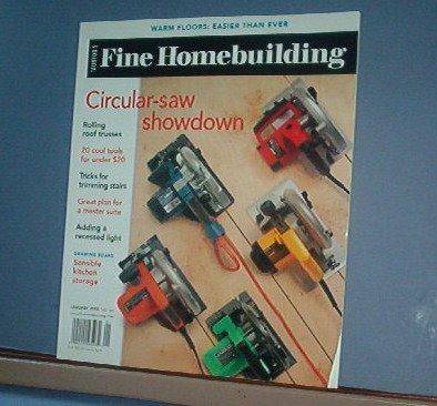 Magazine - FINE HOMEBUILDING Taunton's No. 168 January 2005