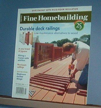 Magazine - FINE HOMEBUILDING Taunton's No.181 September 2006