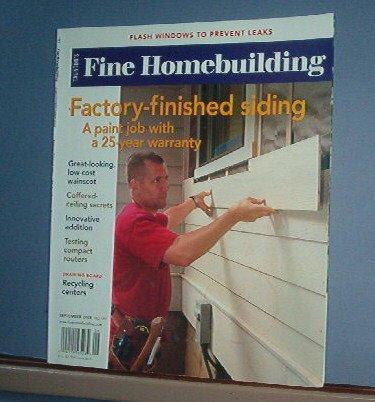 Magazine - FINE HOMEBUILDING Taunton's No. 197 September 2008