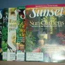 Magazines - Sunset - September 2002, July - October 2003, 5 copies total