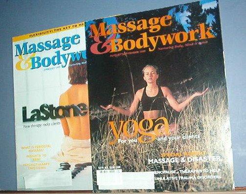 Magazines - Massage & Bodywork - June/July and August/September 1999
