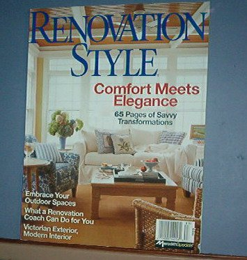 Magazines - Renovation Style - Summer 2008