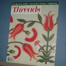 Magazines - Threads - Needlework motifs, Decorative seams & Faggoting April/May 1989