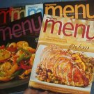 Magazines - Wegmans MENU Magazine - entire year 2006 (4 issues) & Fall & holiday 2005