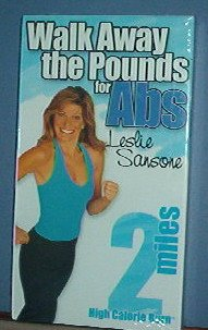 Exercise - Walk Away the Pounds for Abs - High Calorie Burn by Leslie Sansone