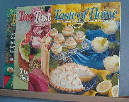 Cooking - Taste of Home -Feb/Mar,April/May, Aug/Sept, Dec/Jan 2004