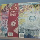 Crochet Pattern Magazine  - Old-time Crochet - Summer & Fall 1990, Summer & Autumn 1992