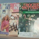 Crochet Pattern Magazine  - Crochet Patterns by Herrschners - Dec 1991, Feb. April. June 1992