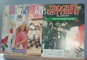 Crochet Pattern Magazine  - Crochet Patterns by Herrschners - Dec 1991, Feb. April. June 1992