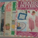 Crochet Pattern Magazine  - Crochet Patterns - Jan/Feb,Mar/Apr,July/Aug,Nov/dec, 1989 Feb 1992