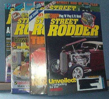 Magazine - Street Rodder - Feb - June, Aug, Sept & Dec 2005