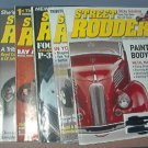 Magazine - Street Rodder - Feb,April, May,July - October,  2008