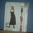 Sewing Pattern McCall's 7233 Jumper amd blouse ize 12, 14 & 16