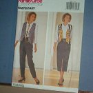 Sewing Pattern: Butterick 6682 Vest, Tie, Shirt, Skirt and Pants Size 12 14 16