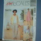 Sewing Pattern McCall's 3568 Unlined Jacket, top,pants and skirt, Size 16 - 22