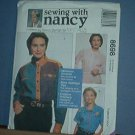 Sewing Pattern McCall's 8698 Three shirts by Nancy Zieman Size 8 - 22