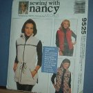 Sewing Pattern McCall's 9525 Unlined Vest Size 8 -22