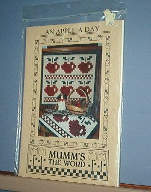Sewing Pattern Mumm's The Word, An Apple a Day 34  X 37""