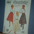 Sewing Pattern Simplicity 9317 Skirt , three lengths, Size 14-18