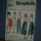 Sewing Pattern Simplicity 7059 Skirt and pants in varyious lengths. Size 6 - 16