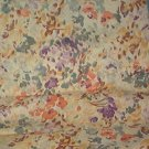 "Sewing Fabric Cotton Beige print 1-1/3 yards 44"" wide No. 265"
