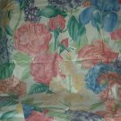Sewing Fabric  No. 274 Huge pastel flowers for Drapery