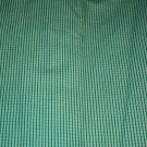 Sewing Fabric No. 286 Cotton Decorator Fabric Green checked