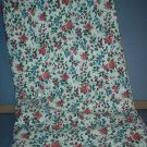 Sewing Fabric Cotton No 303 Pretty roses on white background