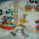 Sewing Fabric Cotton No 309  Mickey, Minnie , Pluto making movies
