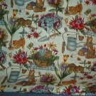 Sewing Fabric Cotton No 313 Cute kittens at play