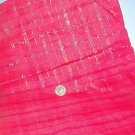 Sewing Fabric Cotton No 318 Red Self-plaid with glitter