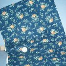 Sewing Fabric Cotton No 325 Navy with small flowers