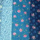 Sewing Fabric Cotton No 374 - 5 each - l yard quilting lengths