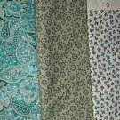 Sewing Fabric Cotton No 379  - 4 each - 1 yard per piece