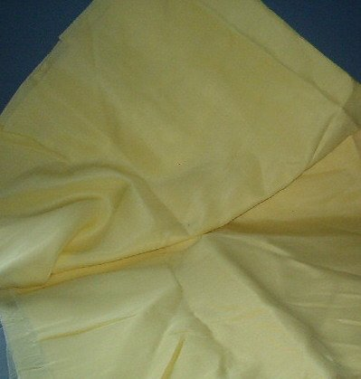 Sewing Fabric No 351  - Soft yellow lining fabric