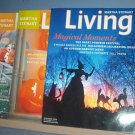 Magazine - Martha Stewart Living - Halloween - Nos 143, 95 and 73 October 1999, 2001 & 2005.